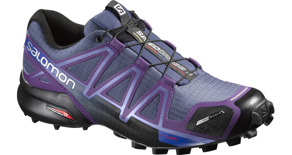 Salomon Speedcross 4 CS Trailrunning Shoes Women slateblue/cosmi purple/black